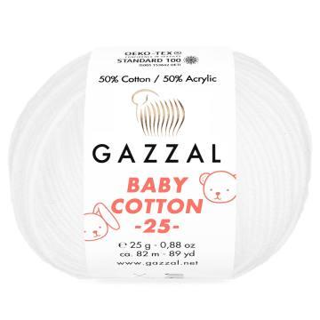GAZZAL BABY COTTON 25
